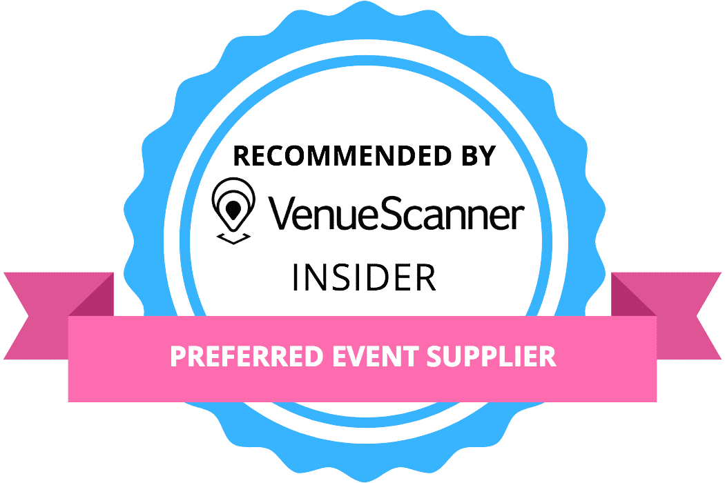 Recommended by VenueScanner badge