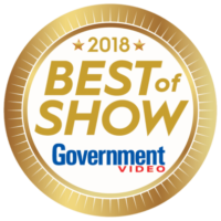 NAB Best of Show Award by Government Video - 2018