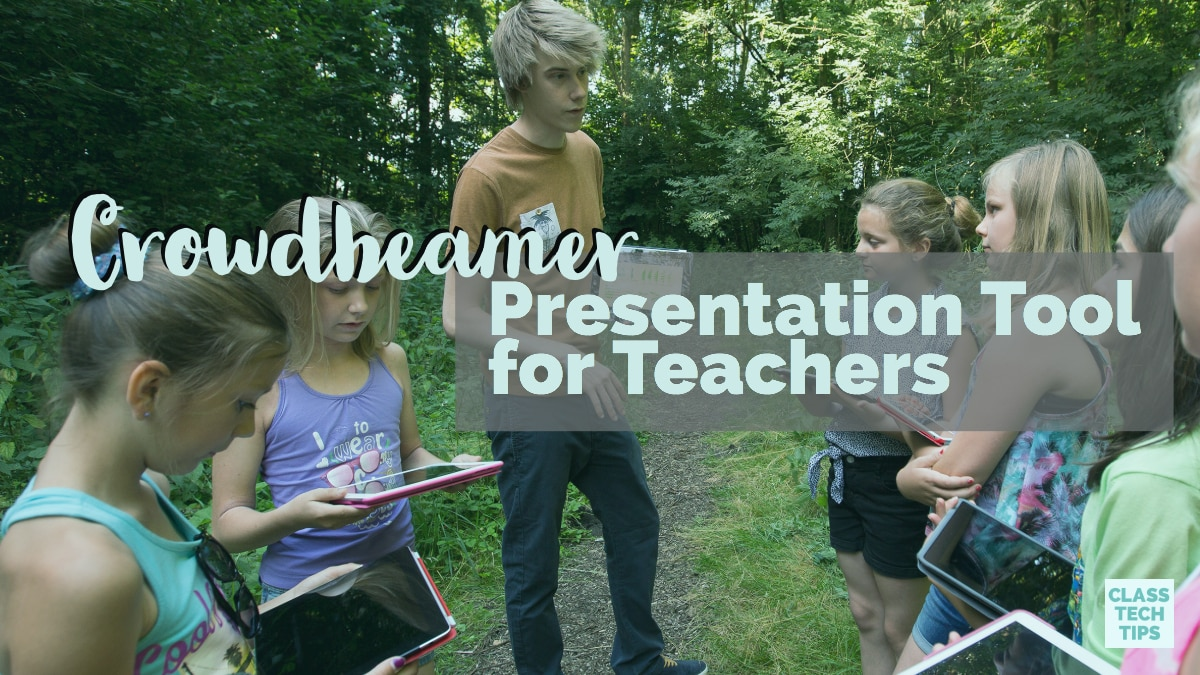 Crowdbeamer Presentation Tool for Teachers