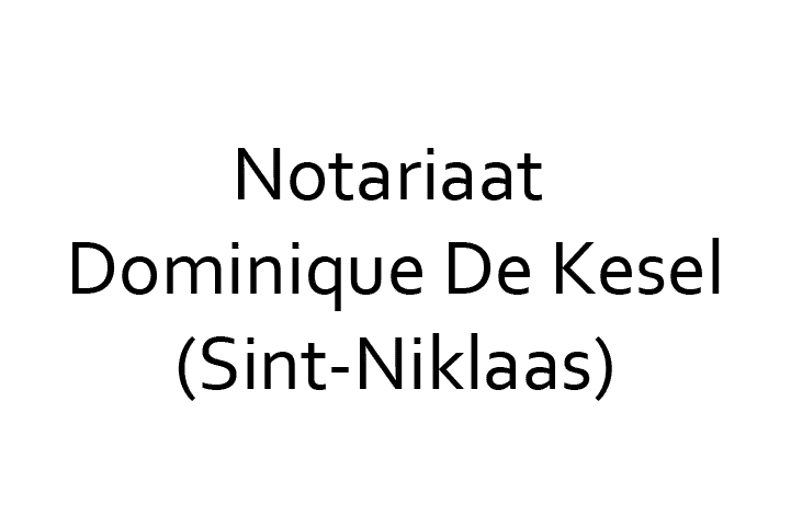 Notariaat Dominique De Kesel, Sint-Niklaas (België)