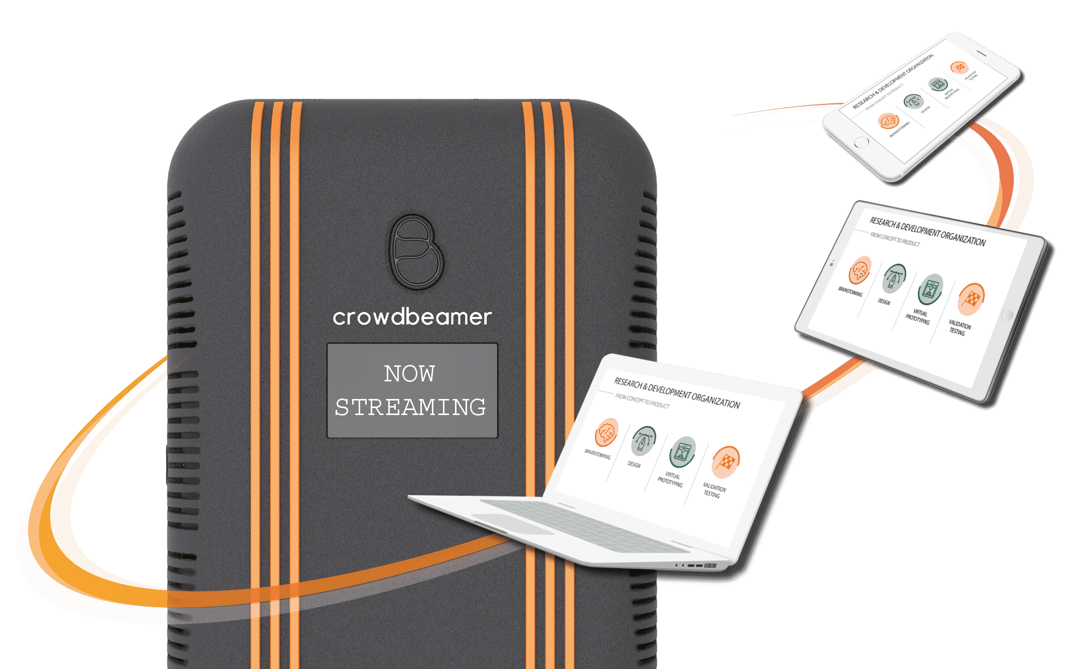 Meet CrowdBeamer, The Presentation System That Amplifies Your Message