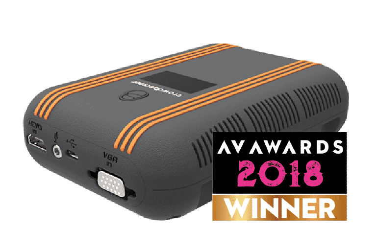 Crowdbeamer AV Awards Winner 2018