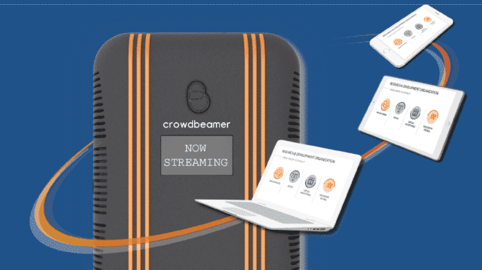 Cool Tool Awards: Crowdbeamer